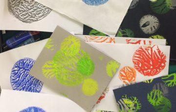 Child's coral print