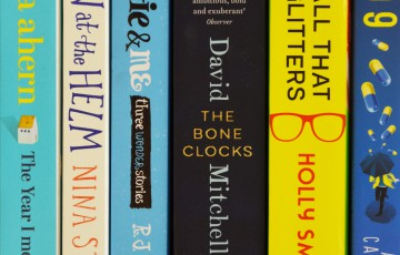 Picture of book spines
