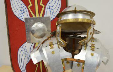 Photo of roman armour