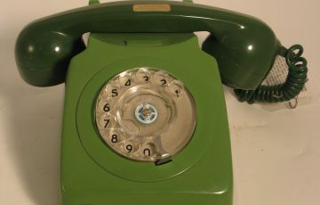 Photo of 1970's phone